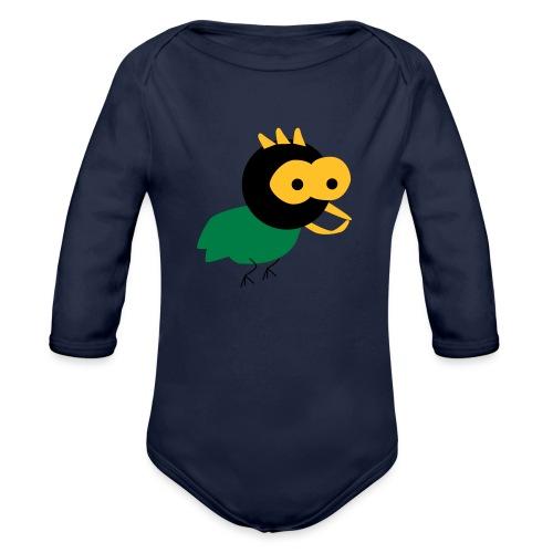 lintu-eps - Vauvan pitkähihainen luomu-body