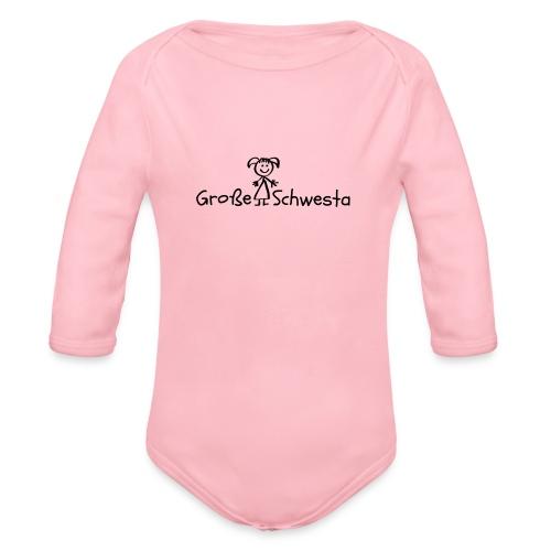 Vorschau: Grosse Schwesta - Baby Bio-Langarm-Body
