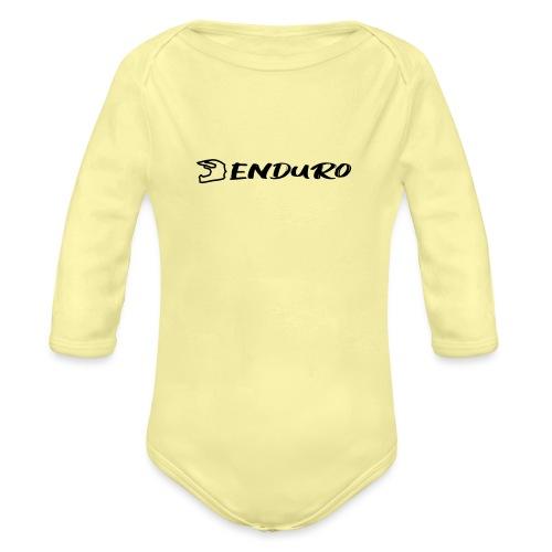 Enduro - Organic Longsleeve Baby Bodysuit