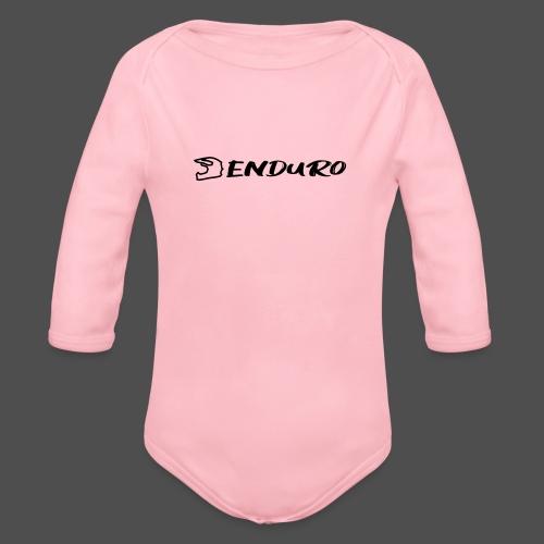 Enduro - Baby Bio-Langarm-Body