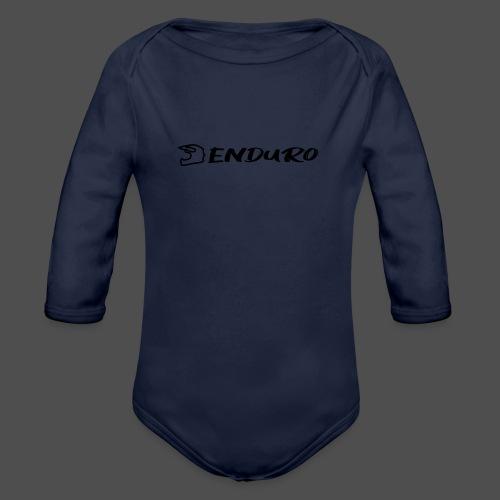 Enduro - Ekologiczne body niemowlęce z długim rękawem