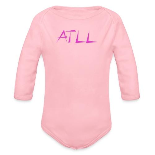 ATLL logo - Langærmet babybody, økologisk bomuld