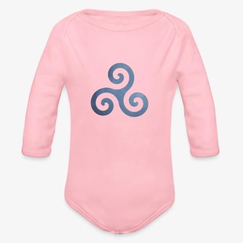 Trisquel 5 - Body orgánico de manga larga para bebé