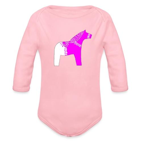 Dala by Pinni Art® pink - Baby Bio-Langarm-Body