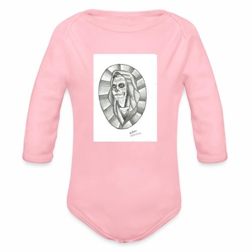 catrina desenho 25 01 2012 001 - Body orgánico de manga larga para bebé