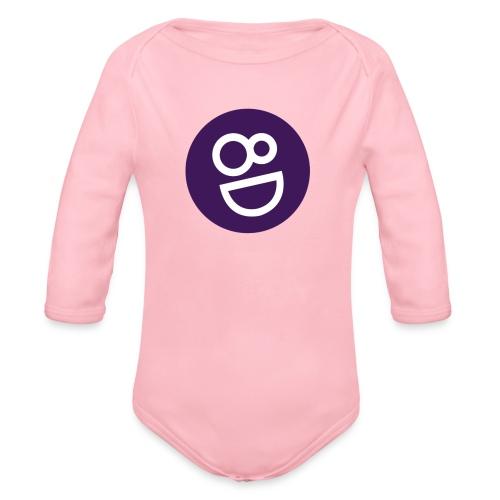 logo 8d - Baby bio-rompertje met lange mouwen