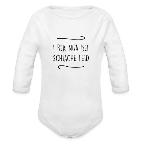 Vorschau: I rea nua bei schiache Leid - Baby Bio-Langarm-Body