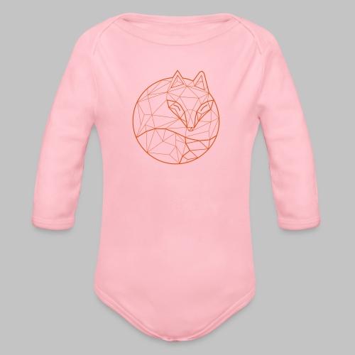Fox Graph - Organic Longsleeve Baby Bodysuit