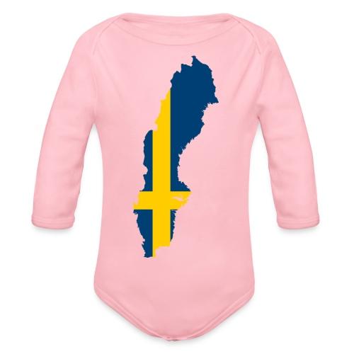 Sweden - Baby bio-rompertje met lange mouwen