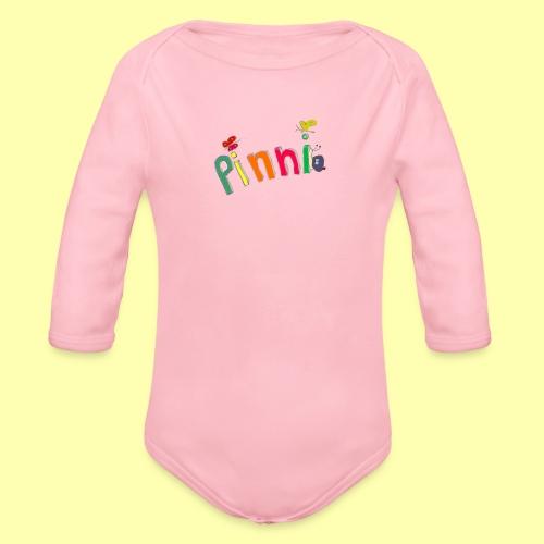 Pinni® Desing - Baby Bio-Langarm-Body