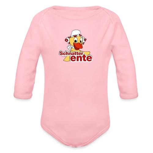 Schnatterinchen Schnatterente - Baby Bio-Langarm-Body