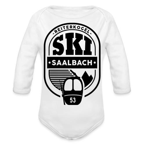 Embleem III Saalbach - Baby bio-rompertje met lange mouwen
