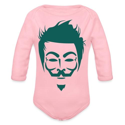 Anonymous Hipster - Body Bébé bio manches longues