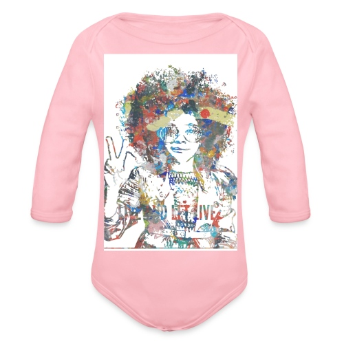 Live and let live, Geschenkidee - Baby Bio-Langarm-Body