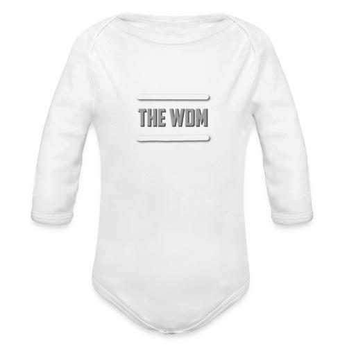 design for store foer spreadshirts se - Ekologisk långärmad babybody