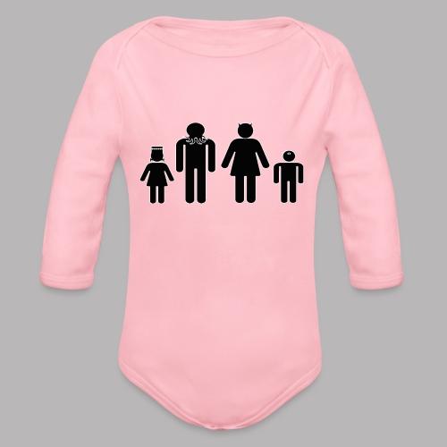 Freaky Family - Organic Longsleeve Baby Bodysuit