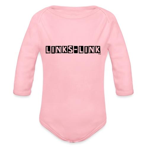 linkslink - Baby Bio-Langarm-Body