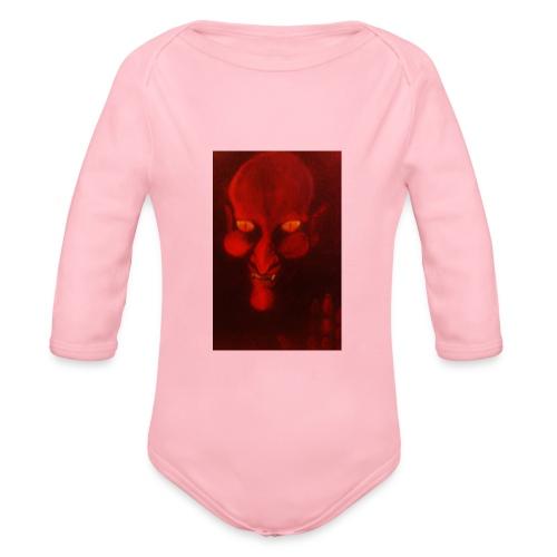 peintures diable - Body Bébé bio manches longues