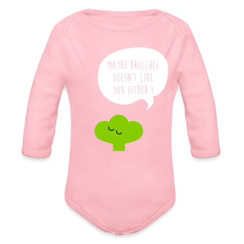 Broccoli doesn't like you - Baby Bio-Langarm-Body