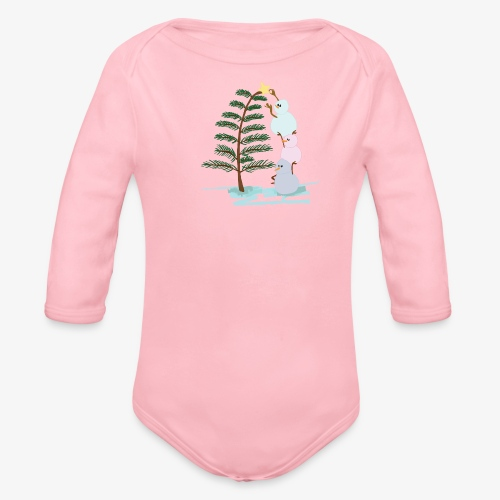 3bonhommesdeneige - Organic Longsleeve Baby Bodysuit
