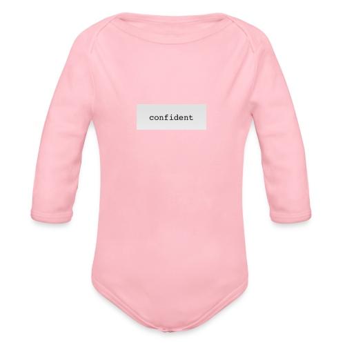 confident - Baby Bio-Langarm-Body