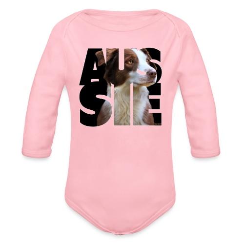 Aussie II - Vauvan pitkähihainen luomu-body