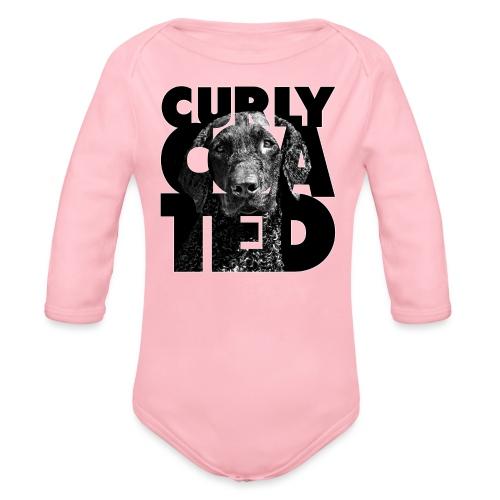 Curly Coated II - Vauvan pitkähihainen luomu-body