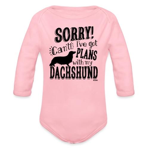Plans Doxie LH B - Vauvan pitkähihainen luomu-body