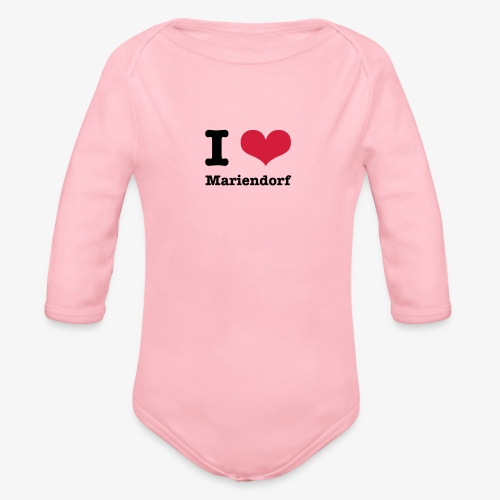 I love Mariendorf - Baby Bio-Langarm-Body