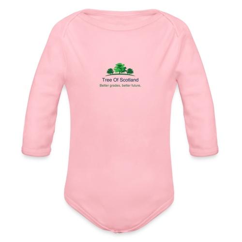 TOS logo shirt - Organic Longsleeve Baby Bodysuit