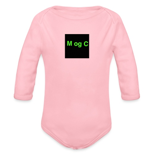 mogc - Langærmet babybody, økologisk bomuld