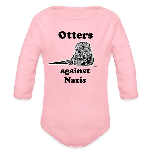 ottersagainstnazis - Baby Bio-Langarm-Body