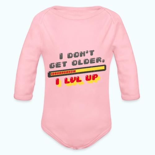 Gamer Spruch - Organic Longsleeve Baby Bodysuit
