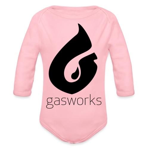 Gasworks Logo Tee - Organic Longsleeve Baby Bodysuit