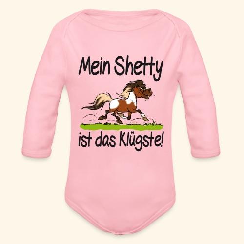 Mein Shetty ist das Klugste (Text Schwartz) - Body Bébé bio manches longues