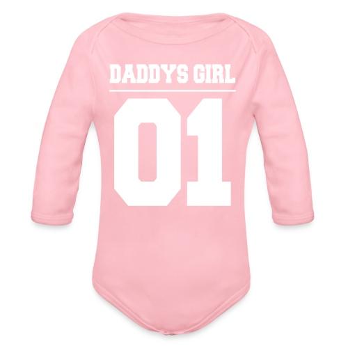 Daddys Girl 01 - Baby Bio-Langarm-Body