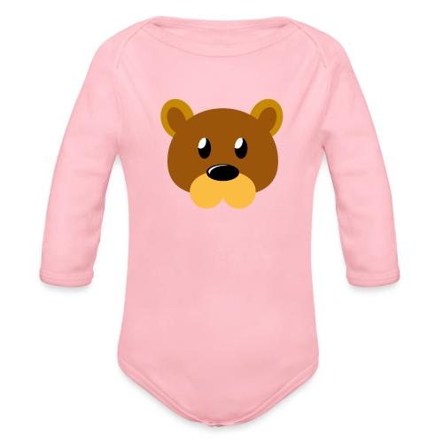 Teddy »Brumm« - Organic Longsleeve Baby Bodysuit