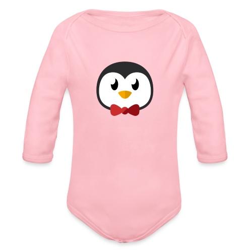 Pinguin »Ping« - Organic Longsleeve Baby Bodysuit