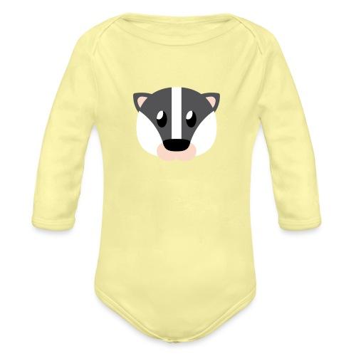 Dachs »Didi« - Organic Longsleeve Baby Bodysuit