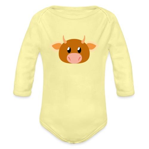 Kuh »Mili« - Organic Longsleeve Baby Bodysuit