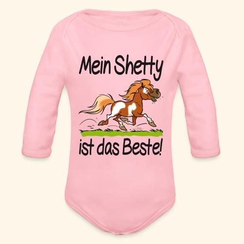 Mein Shetty ist das Beste (Text Schwartz) - Body Bébé bio manches longues