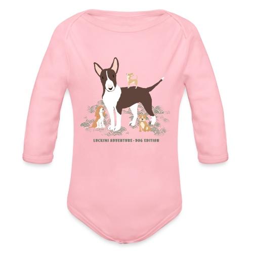 Dog edition - Kids - Organic Longsleeve Baby Bodysuit