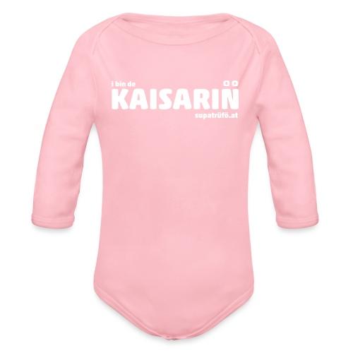 supatrüfö KAISARIN - Baby Bio-Langarm-Body