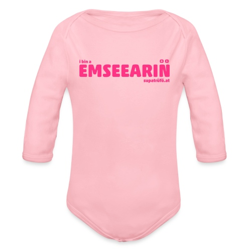 supatrüfö EMSEEARIN - Baby Bio-Langarm-Body