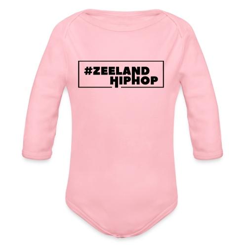Zeeland Hiphop Baby - Baby bio-rompertje met lange mouwen