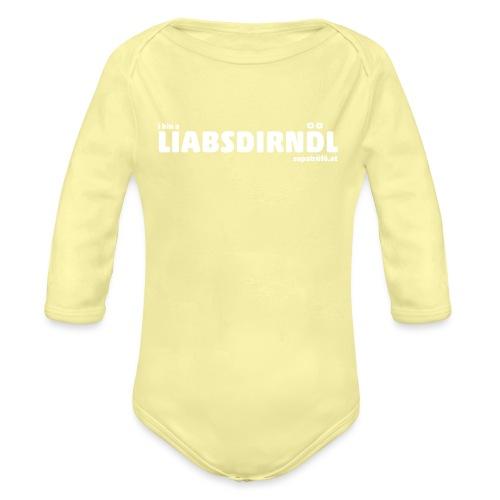 supatrüfö LIABSDIRNDL - Baby Bio-Langarm-Body