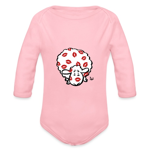 Kiss Ewe - Økologisk langermet baby-body