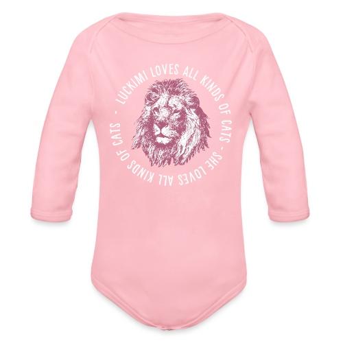 All kinds of cats - Barn - Organic Longsleeve Baby Bodysuit
