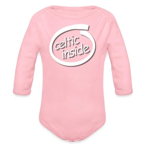 celtic inside - Body ecologico per neonato a manica lunga