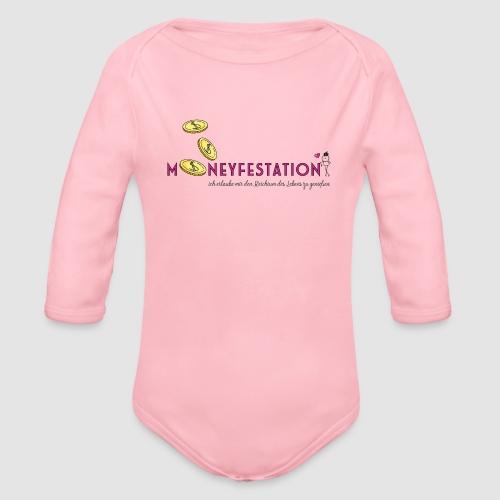moneyfestation - Baby Bio-Langarm-Body